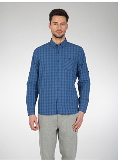 Colin's Kareli Gömlek İndigo